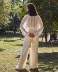 Pantalona Leve Branca