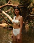 Biquini Franzido + Hot Pant Off White