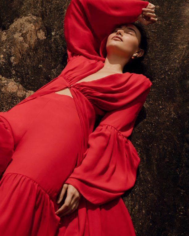 Kimono Âmago Vermelho